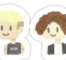 fall out boy doing this face =) Sticker