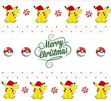 Pika Christmas by vanessarainces