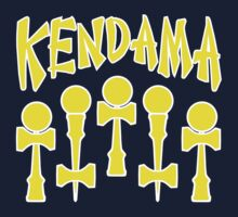 Kendama x5, yellow by gotmoxy