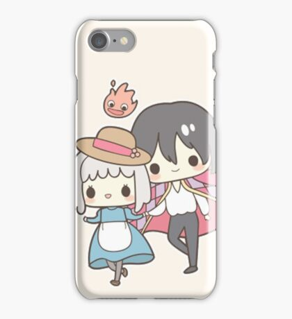 Howls Moving Castle - Studio Ghibli iPhone Case/Skin