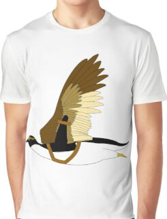 Penguins Can't Fly Graphic T-Shirt