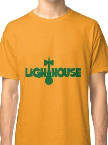 Lighthouse, green Classic T-Shirt
