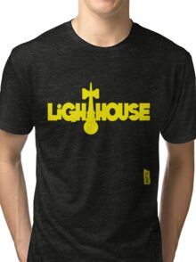 Lighthouse, yellow Tri-blend T-Shirt