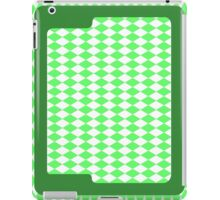 Green Diamonds iPad Case/Skin