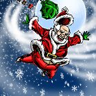 Extreme Santa by Michael Lee