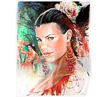 Flamenco Beauty V2 Poster