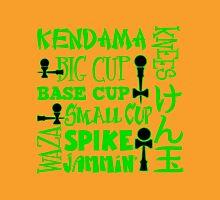 Kendama Word Block, green Unisex T-Shirt