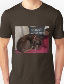 I Can't Read Either Unisex T-Shirt