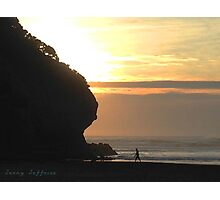 Piha Sunset Photographic Print