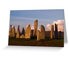 Calanais Stone Circle Greeting Card