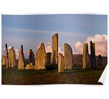Calanais Stone Circle Poster