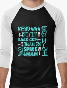 Kendama Word Block, lt blue T-Shirt