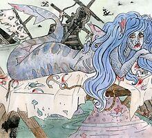 Shark Siren  by painted-lizard