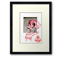 in and out of reality Framed Print