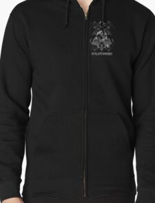 EvilutionE5150 Metal Design 5 Zip up hoodie only version T-Shirt