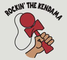 Rockin the Kendama, red by gotmoxy