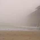 Fog At The Pier by Dawne Dunton