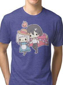 Howls Moving Castle - Studio Ghibli Tri-blend T-Shirt