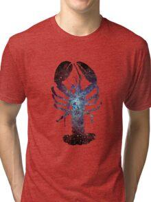 Galaxy Lobster Tri-blend T-Shirt