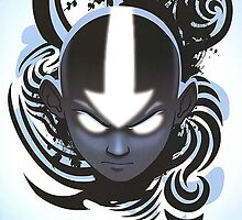 Avatar Aang The Last Airbender Poster by MarioGirl64