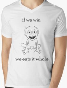 Smeagol-If We Win We Eats It Whole T-Shirt