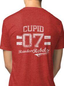 Cupid Reindeer Rebel Tri-blend T-Shirt