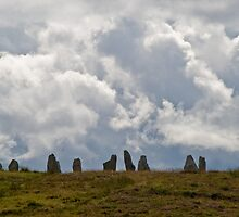 Calinais Number 4 on Lewis Island in Scotland by donberry