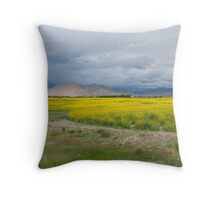 On the way to Mount Everest Throw Pillow
