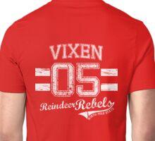 Vixen Reindeer Rebel Unisex T-Shirt