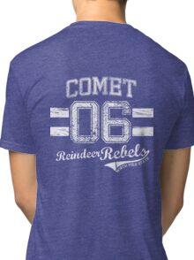 Comet Reindeer Rebel Tri-blend T-Shirt