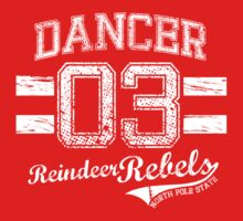 Dancer Reindeer Rebel T-Shirt