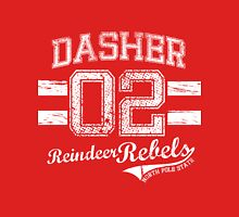 Dasher Reindeer Rebels Unisex T-Shirt