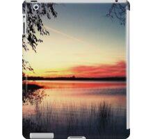 Sunset at Mindemoya Lake iPad Case/Skin