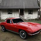 Red Vette by Keith Hawley