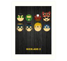 Minimalist Posters: Kick-Ass 2 Art Print