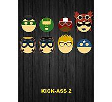 Minimalist Posters: Kick-Ass 2 Photographic Print