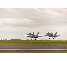 Twin Take-off Photographic Print