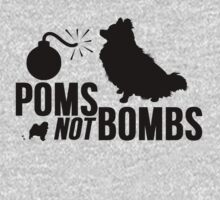 Poms Not Bombs by Alan Craker