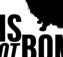Poms Not Bombs Sticker