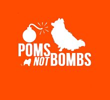 Poms Not Bombs Unisex T-Shirt