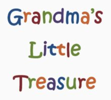 Grandma's Little Treasure T-shirt by hummingbirds