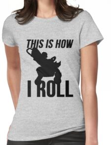 Baby Stroller - This is How I Roll Womens Fitted T-Shirt