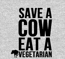 Save A Cow Eat A Vegetarian Unisex T-Shirt