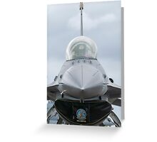 Top Gun V Greeting Card