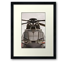 Ready For Action Framed Print