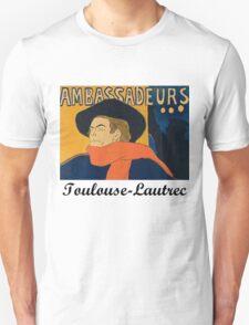 Toulouse Lautrec - Aristide Bruant T-Shirt