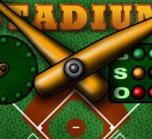 Baseball Stadium Sticker