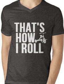 Thats How I Roll - Childs Tricycle Mens V-Neck T-Shirt