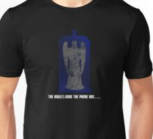 The Angel and the Blue Box Unisex T-Shirt