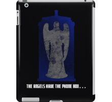 The Angel and the Blue Box iPad Case/Skin